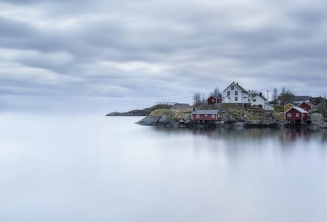 Norway, Lofoten, Nusfjord.