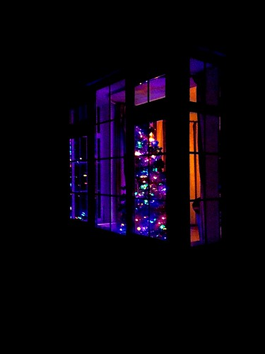ireland irish window reflections festive season cork christmastree newmarket hww iphone5 mountainviewbb 2015onephotoeachday
