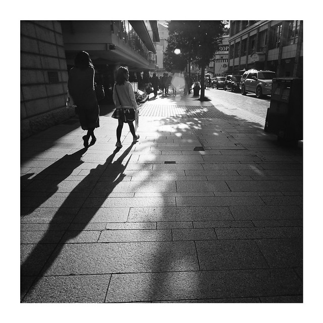 *Street in the winter.