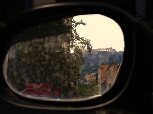 street city car canon photography eos 50mm mirror ancient view athens greece frame f18 acropolis 70d aiolou