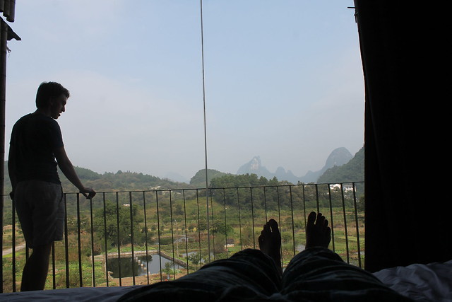 Chillings in Yangshuo