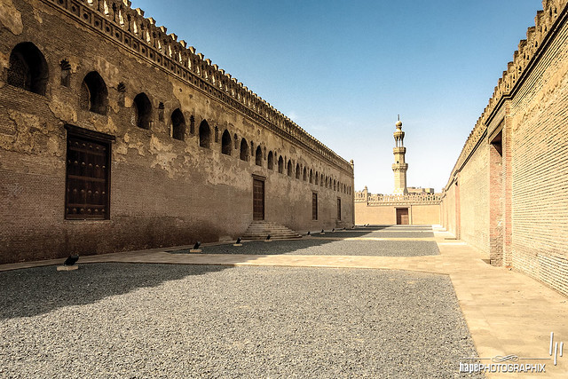 Forecourt of Mosque of Ibn Tulun