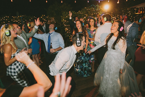 Rory and Kevin's Silent Disco Wedding | by Silent Disco