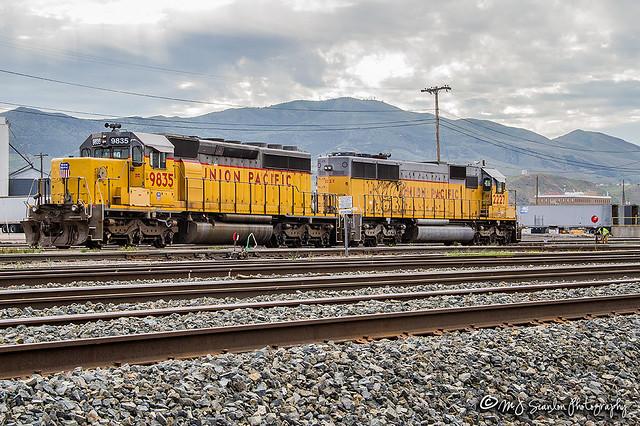 UP 9835 | EMD SD50 | UP Pocatello Yard