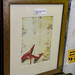 Ex hotel stock red shoe print