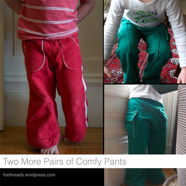 Two More Pairs of Comfy Pants