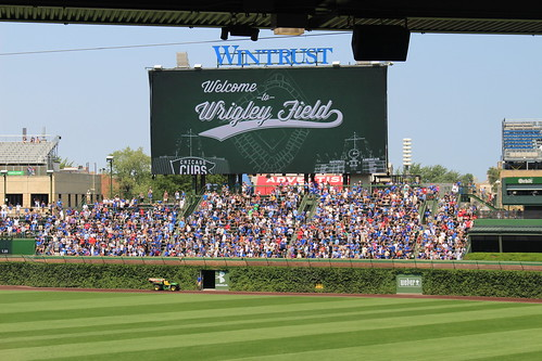 Chicago Cubs at Wrigley Field | by jjandames