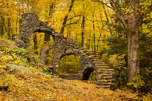 new autumn england fall stone stairs us ruins unitedstates newengland newhampshire hampshire chesterfield
