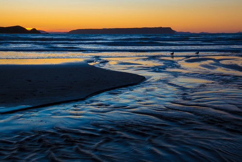 blue sunset newzealand seascape beach nature landscape evening twilight sand waves nz wellington northisland coastline ripples plimmerton porirua coastallandscape plimmertonbeach