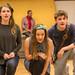 Charlotte Miranda Smith, Claire-Marie Seddon & James Rottger in rehearsal