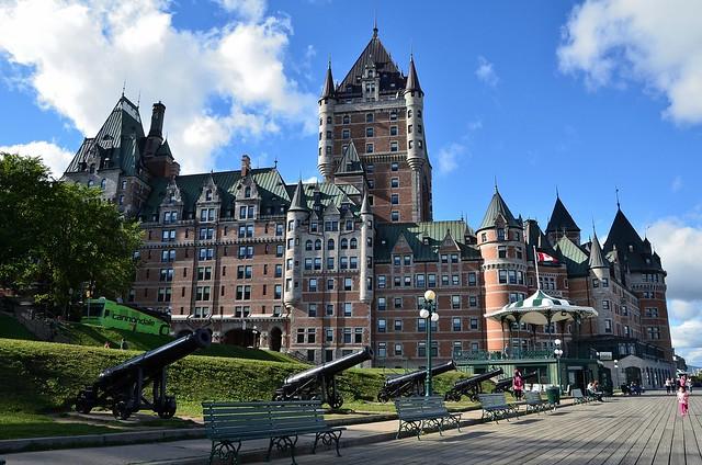 Québec : Le château de Frontenac