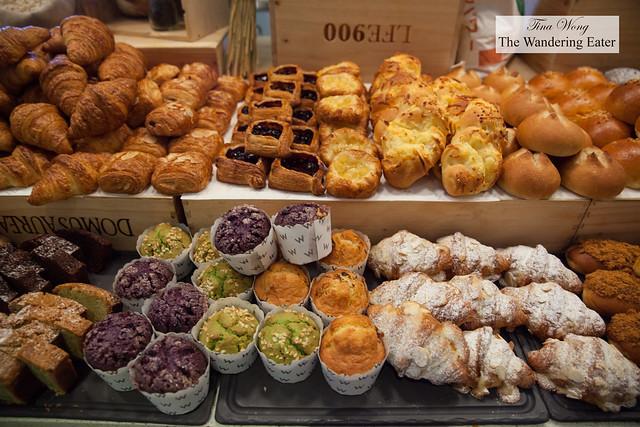Vast array of pastries