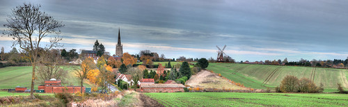 autumn thaxted uttlesford landscape essex windmill panorama johnwebbwindmill places thaxtedchurch