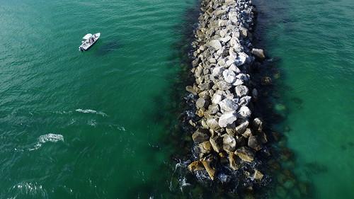 destin florida jetty pass gulf mexico emerald coast beach