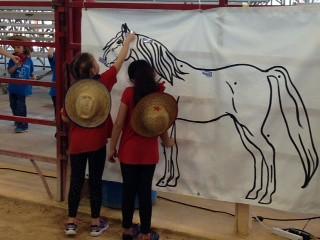 2015 - 1st Grade Feb. 25 Bergeron Rodeo Grounds, Davie, FL with Davie Rotary Club   by lindarubin51