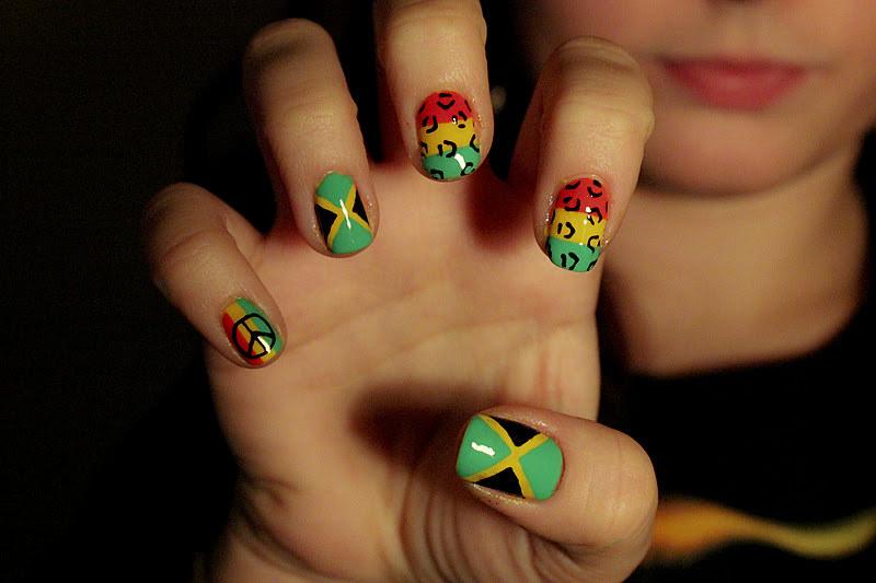 Jamaican Nail Salon Near Me - different nail designs