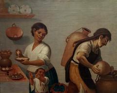 Chapultepec, Oleo con Aguador