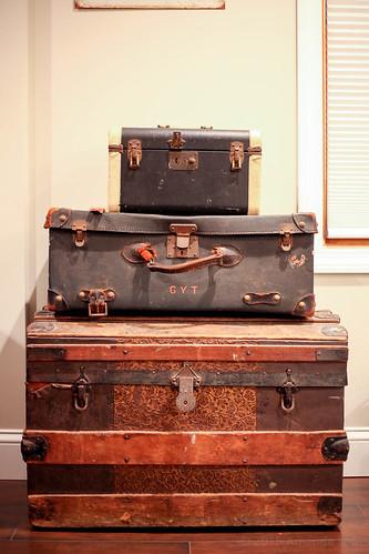 Antique Trunk & Suitcases | by blamethecrane