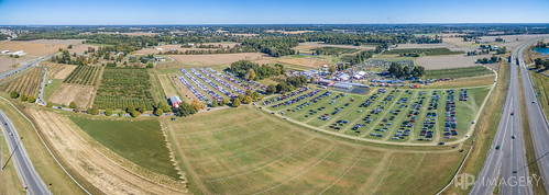 event ky kentucky owensboro aerial applefest festival orchard p3p pano panorama reids usa