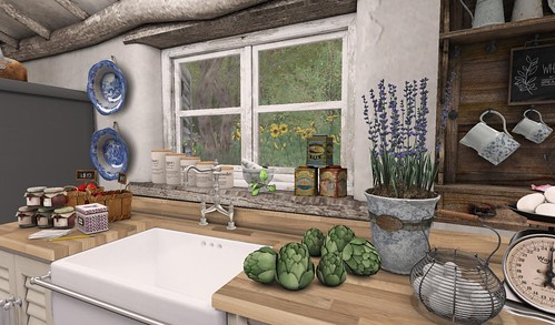 Farmhouse Kitchen_Sink | by Hidden Gems in Second Life (Interior Designer)