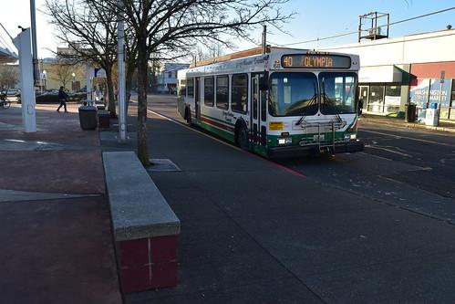 Grays Harbor Transit - New Flyer D40LF