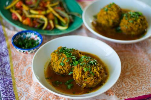 Koofteh (Persian Meatballs) in a Tomato Turmeric Broth | by FerraroKitchen1