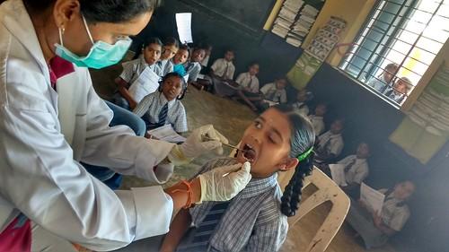 School Dental Health Program Bangalore
