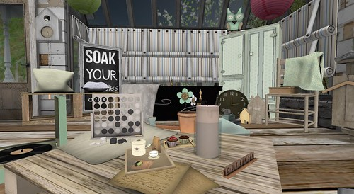Serenity Style- Summer Camp Living Room | by Hidden Gems in Second Life (Interior Designer)