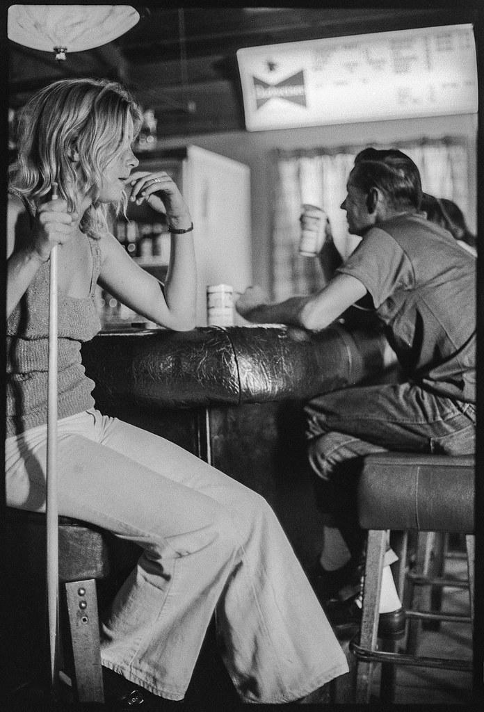 bar, Tampa, Florida, 1974