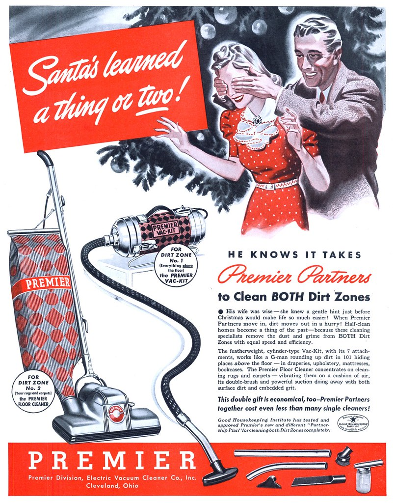 Premier Division, Electric Vacuum Cleaner Company - published in The Saturday Evening Post - November 30, 1940