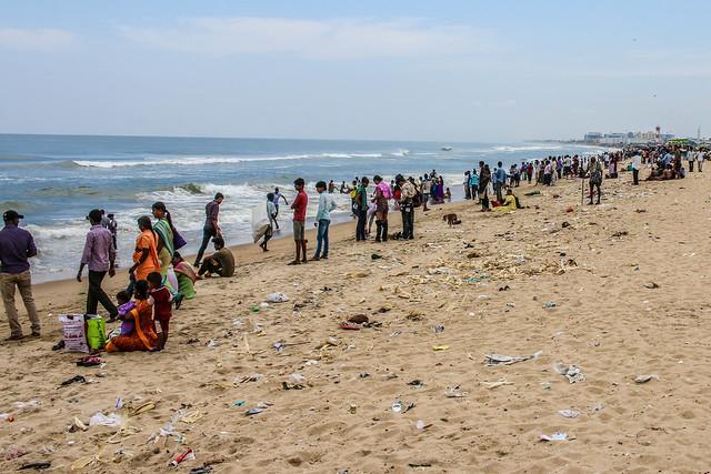 Marina Beach in Chennai 02