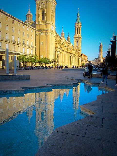 Basilica reflection