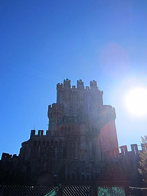 Rainbow castle Spain