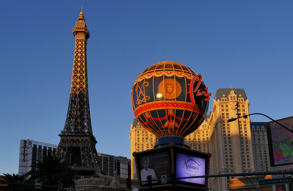 Paris Las Vegas  | This French-themed casino hotel with a ha