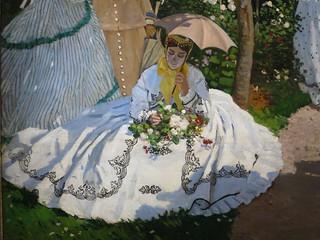Femmes au jardin, détail (1866), Claude Monet - Musée d'Or… | Flickr