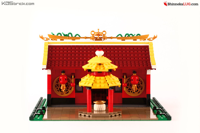 Buddhist Dharma Bhakti Temple - Jakarta Brick City 2015