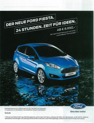 2014 Ford Fiesta (Germany) Photo