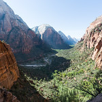 Zion Valley from Angel's Landing trail
