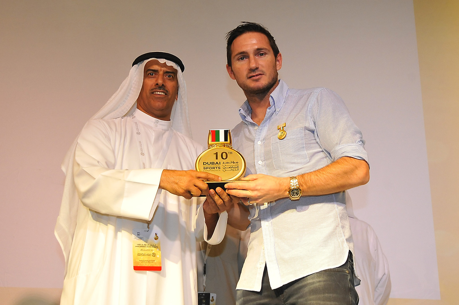 """Dubai International Sport Conference"" - Workshop 4 : Football player career"