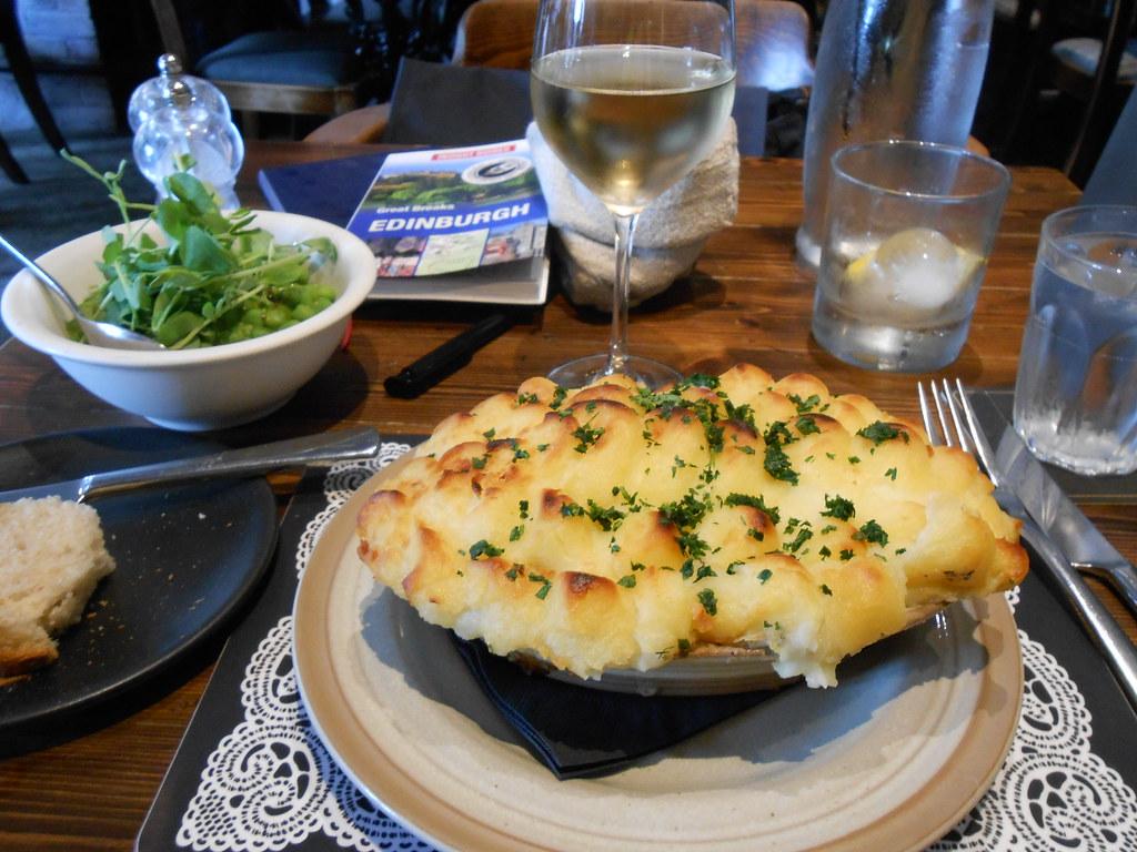 Fish pie at the Scran & Scallie
