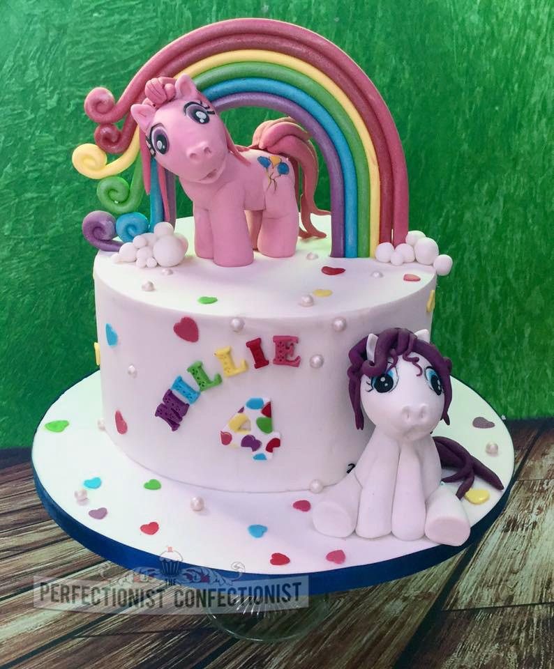Enjoyable Millie My Little Pony Birthday Cake A Photo On Flickriver Personalised Birthday Cards Arneslily Jamesorg