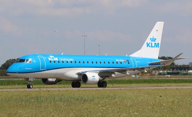 KLM Cityhopper Embraer 175