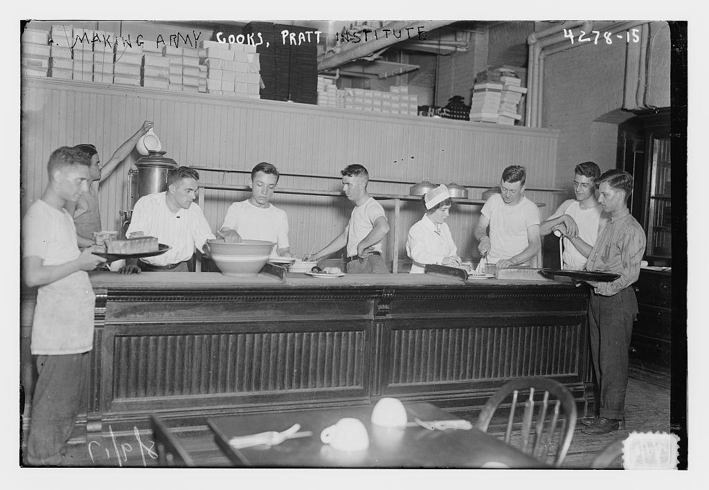 Training army cooks, Pratt Institute (LOC)