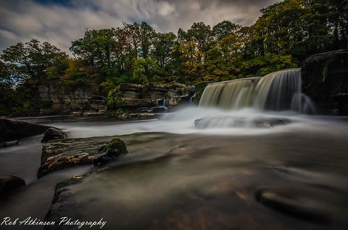 sky water river waterfall rocks richmond northyorkshire northeastengland riverswale sigma1020 richmondfalls robatkinsonphotography