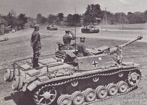 StuG iii Gs in Russia