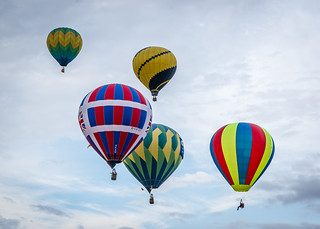 Hot air balloons in the sky | by Vironevaeh