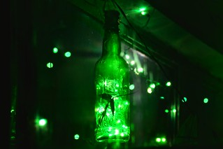 Bottle full of light........festival of lights is round the corner....