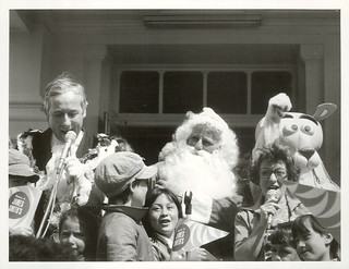 Wellington Christmas Parade, 1978