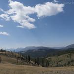 View from ridgeline on Sepulcher Mountain