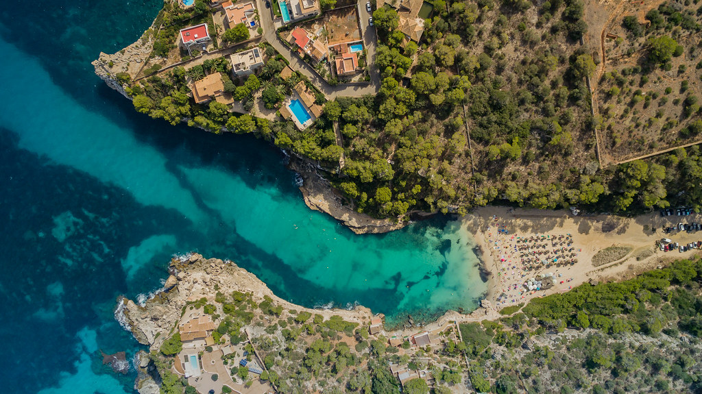 Mallorca schönste Strände Cala Llombards | - | dronepicr | Flickr